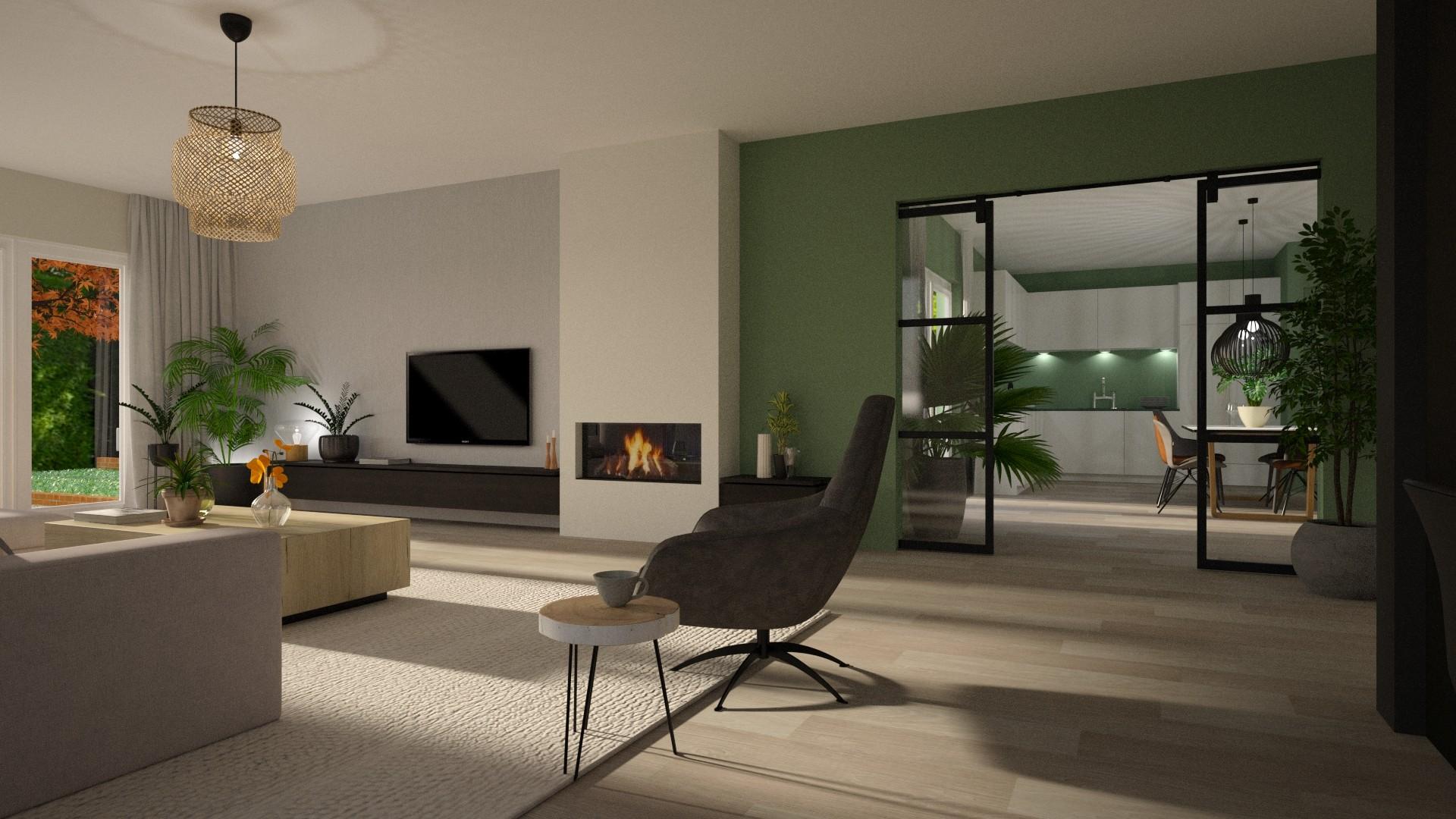 Interieur<wbr>advies vrijstaande villa Elst